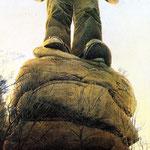 Der Riese, (The Giant),40x22cm
