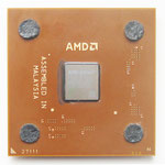 AMD Athlon XP 2000+ Palomino brown