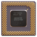 P54CS Intel Pentium 166 MHz SY016 A80502166