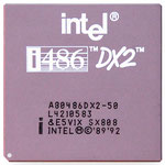 Intel A80486 DX2-50 SX808