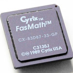 Cyrix FasMath CX-83D87-33-GP