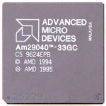 AMD Am29040-33GC