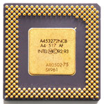 A80502-75 SX961 Intel Pentium 75 MHz P54C with Heatspreader