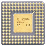 Intel A80386DX-33 IV new logo