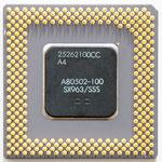 Intel Pentium 100 MHz A80502-100 SX963