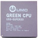 """UMC """"Green CPU"""" U5S-SUPER33"""