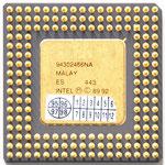 Intel A80486 DX2-66 SX807