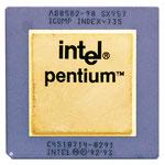A80502 Intel Pentium 90 MHz SX957 w/ Heatspreader