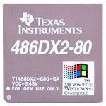 TI486DX2-G80-GA Texas Instruments 486 DX2 80 MHz