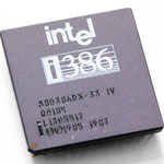 Intel A80386DX-33 IV Engineering Sample