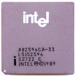 Intel 82596CA-33 486 Class 32-Bit LAN Controller SZ722