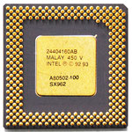 Intel Pentium 100 MHz A80502-100 SX962 w/ IHS