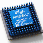 Intel A80486 DX2-66 SX759 w/ retail heatsink