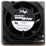 Intel Pentium OverDrive 83 MHz Fan Variation