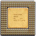 Intel A80486 SX-33 SX797