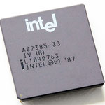 Intel A82385-33 IV (B)