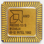 AMD Am286 front view
