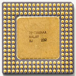 Intel A80486 DX-33 SX666