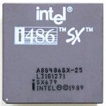 Intel A80486 SX-25 SX679