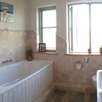 Strandhaus-Fehmarn I, Backbord, Badezimmer im OG mit schöner Wanne