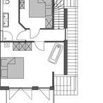 Strandhaus-Fehmarn I, Steuerbord, Grundriss vom OG