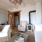 Strandhaus-Fehmarn I, Backbord, gemütlich im Sommer und Winter