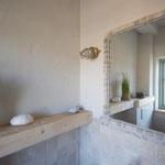 Strandhaus-Fehmarn I, Backbord, das WC im EG