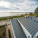 Strandhaus-Fehmarn I, Fehmarnsund, von oben
