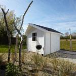 Strandhaus-Fehmarn I, Backbord, Ihr eigenes Saunahäuschen