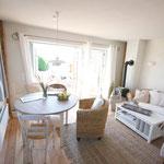 Strandhaus-Fehmarn II, Captains-Deck, gemütlich im Sommer und im Winter