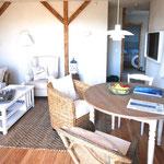 Strandhaus-Fehmarn II, Captains-Deck, rundum hell und großzügig