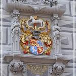 Altes Rathaus: Wappen des Herzogs