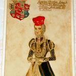 Herzogin Dorothea im Jahr ihrer Eheschließung mit 15 Jahren
