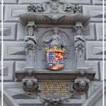 Altes Rathaus: Wappen der Herzogin