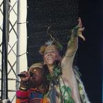 Dancing mit lovely amazing Yvonne Mwale