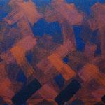 o.T., 2019 - II, Acryl auf Jute, 80 x 100 cm