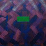 o.T., 2019 - VIII, Acryl auf Jute, 80 x 100 cm