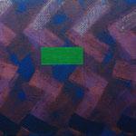 o.T., 2019 - VII, Acryl auf Jute, 70 x 100 cm