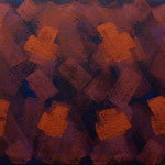 o.T., 2018 - IV, Acryl auf Jute, 70 x 100 cm