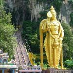 Batu Caves bei Kuala Lumpur