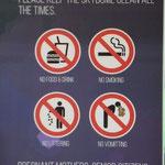Brechen verboten