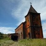Ein verlassener Ort aus der französischen Kolonialzeit