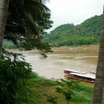 Am Mekong in Luang Prabang