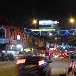 Nachts in Ipoh
