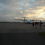 Abflug nach Kambodscha/Siem Real