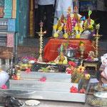 Hindutempel auf dem Berg