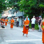 Almosengang der Mönchen