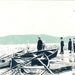 Ufer | 30 x 40 cm | Farbstift und Gouache auf Papier | 2014