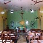 In chapel