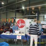 Infostand beim Piccolino-Flohmarkt